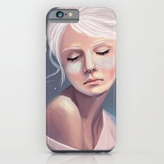 Her Cheeks Glowed with the Constellations of Lovers iPhone 6s Slim Case