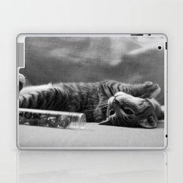 Kitty is Less Than Three Dice Laptop & iPad Skin