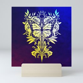 Butterfly Mirror Mini Art Print