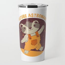 Future Astronaut Raccoon Travel Mug