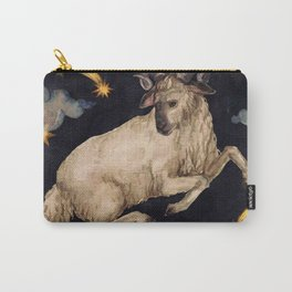Zodiac sign Aries Carry-All Pouch