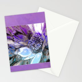 In Sunlight, Lilac and Blue Stationery Cards