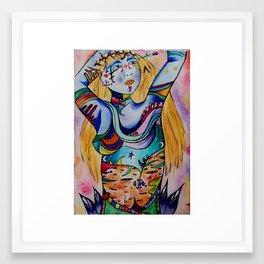 Party Love Framed Art Print