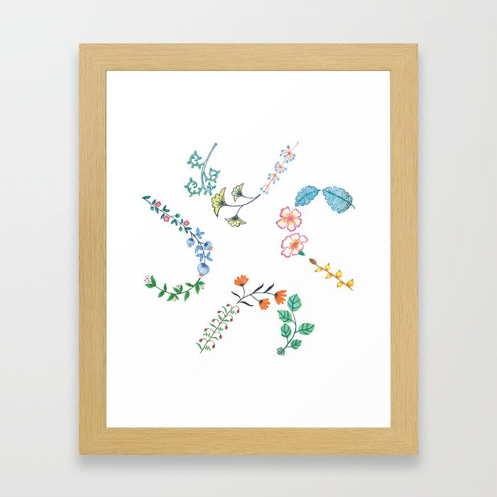HeartilyEverAfter Pillow Cover (His) Framed Art Print