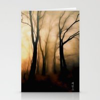 fog Stationery Cards featuring Fog by Nev3r
