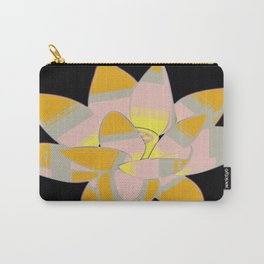 Water Lilly Pop Art Carry-All Pouch
