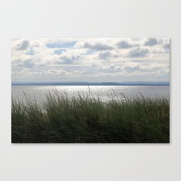 Shining Waters Melmerby Beach Canvas Print