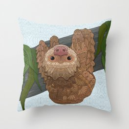 Hang in there buddy Throw Pillow