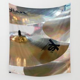 Cymbals Wall Tapestry