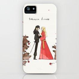 Twuuu Looove iPhone Case