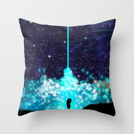 Love's Magic Chemistry Throw Pillow
