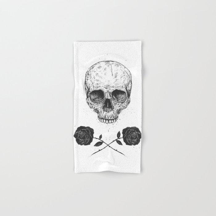 Skull N' Roses Hand & Bath Towel