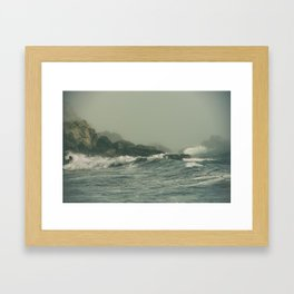 Into the Waves IX Framed Art Print
