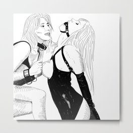 BDSM Metal Print