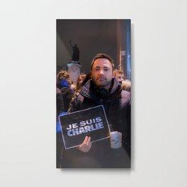 Parisian Mugshots - Je suis Charlie (Gueules de Parisiens) Metal Print