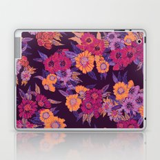 Floral in purple tones Laptop & iPad Skin