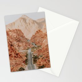 desert road trip xii / valley of fire, nevada Stationery Cards