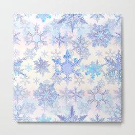 Snowflakes #4 Metal Print