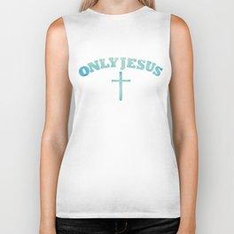Only Jesus Biker Tank