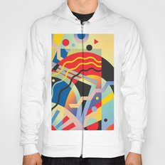 Graphic Abstraction 3 Hoody