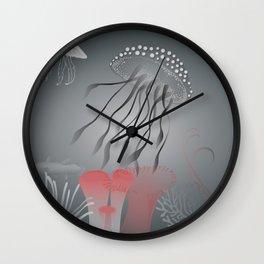 Meduse Wall Clock