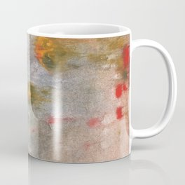 Rosy brown clouded wash painting Coffee Mug