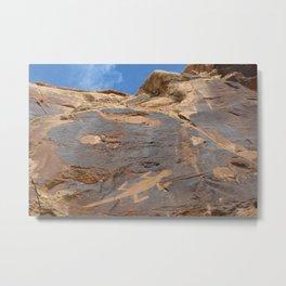 Lizard Rock Art along Cub Creek, Dinosaur National Monument Metal Print