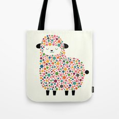 Bubble Sheep Tote Bag
