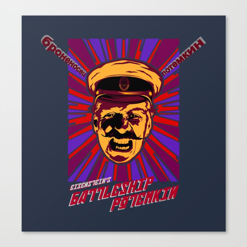 Battleship Potemkin Canvas Art by Theelectricjoy CNV8713953