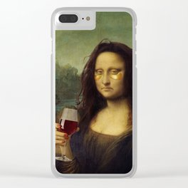 Monday Lisa Clear iPhone Case