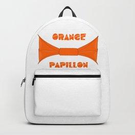 ORANGE PAPILLON Backpack