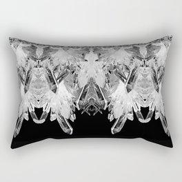 Kryptonite - Black & White Rectangular Pillow