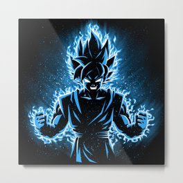 Blue god Metal Print