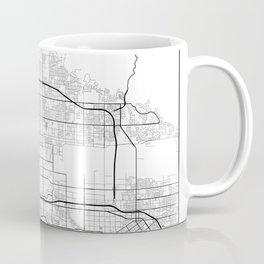 Minimal City Maps - Map Of San Bernardino, California, United States Coffee Mug