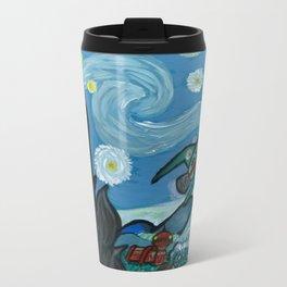 Starry Flight Metal Travel Mug