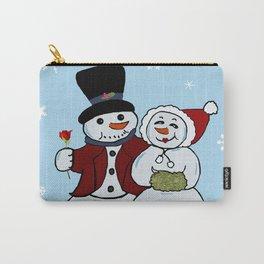 Snowcouple Carry-All Pouch