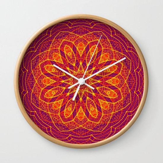 Kaleidoscope Sphere Wall Clock