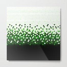 Tech Camouflage 2.0 Metal Print
