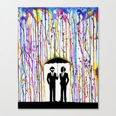 Just a Couple of Punks... Canvas Print