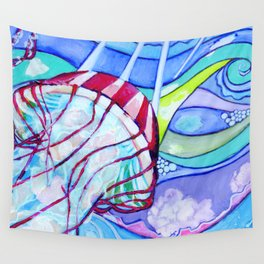 Surfin' Jelly Wall Tapestry