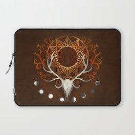 Season Of The Moons Autumn Fire Laptop Sleeve