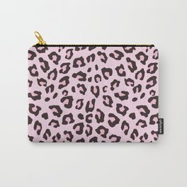 Leopard Print - Pink Chocolate Carry-All Pouch