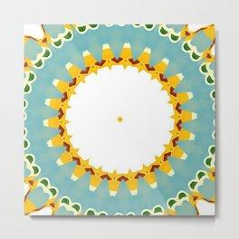 Eyecatching Sunlighter Mandala 4 Metal Print
