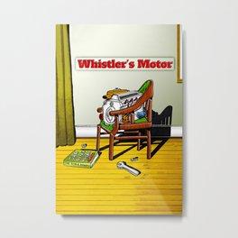 Whistler's Motor Metal Print