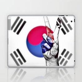 Airbrush Artwork South Korea World Peace Flag Laptop & iPad Skin