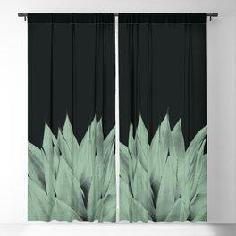 Agave Dark Night Vibes #1 #tropical #decor #art #society6 Blackout Curtain