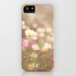 Dreaming of Flowers iPhone Case