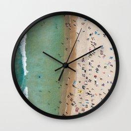 Bondi Stripe Wall Clock