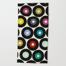 VINYL Beach Towel