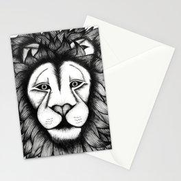 Maned Lion King Stationery Cards